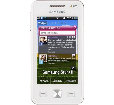 Samsung GT-C6712 Star II DUOS White фото 1